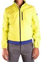 Refrigiwear Men's Yellow Polyamide Outerwear Jacket.
