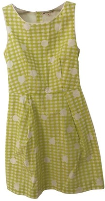 Bonpoint Green Cotton Dress for Women