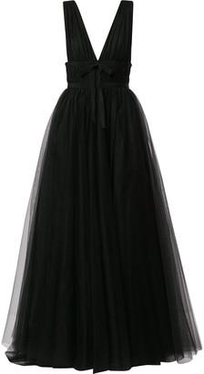 Brognano Empire-Line Tulle Gown