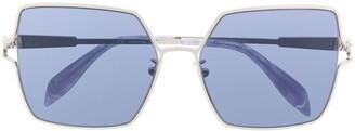 Alexander Mcqueen Eyewear Square Frame Sunglasses