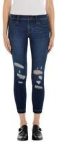 J Brand Women's Released Hem Crop Skinny Jeans