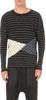 Thamanyah Stripe Cashmere And Silk Jumper