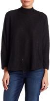 Bobeau Mock Neck Knit Sweater (Petite)