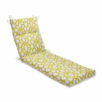 Charlton Home Indoor/Outdoor Chaise Lounge Cushion Color: Wasabi