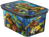 Nickelodeon Teenage Mutant Ninja Turtles Plastic Storage Bin Small