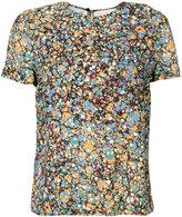 Victoria Beckham abstract print T-shirt - women - Viscose - 8
