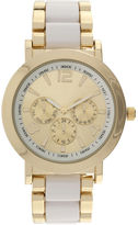 JCPenney FASHION WATCHES Womens Color Link Bracelet Watch