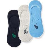 Polo Ralph Lauren No-Show Liner Sock 3-Pack