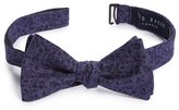 Ted Baker Men's Floral Cotton Bow Tie