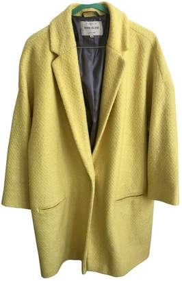 River Island Yellow Coat for Women