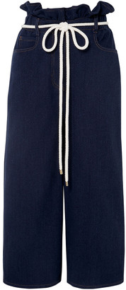 Valentino Belted Cotton Culottes