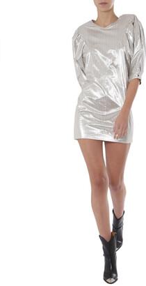 Isabel Marant Puffed Sleeve Dress