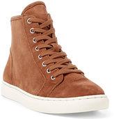 Ralph Lauren Suede High-Top Sneaker