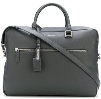 Saint Laurent small Museum flat briefcase