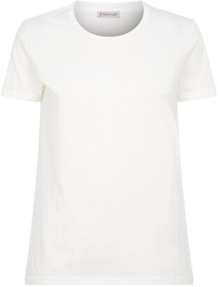 Moncler Cotton Logo Sleeve T-Shirt