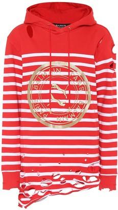 Puma x Balmain stretch-cotton hoodie