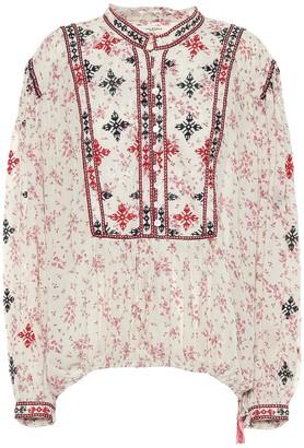 Etoile Isabel Marant Ivayo floral printed blouse