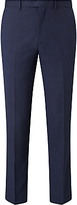 John Lewis Super 100s Wool Birdseye Tailored Suit Trousers, Airforce