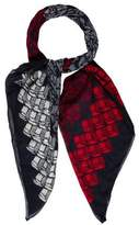 Sonia Rykiel Abstract Print Scarf
