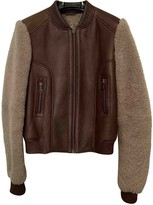 Non Signã© / Unsigned Non SignA / Unsigned Brown Mongolian Lamb Leather jackets