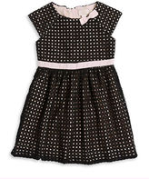 Kate Spade Girls 7-16 Eyelet Bow Dress