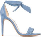 Alexandre Birman ankle length sandals - women - Leather/Suede - 36