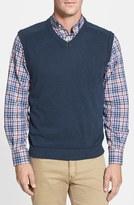 Cutter & Buck Men's Big & Tall 'Broadview' V-Neck Sweater Vest