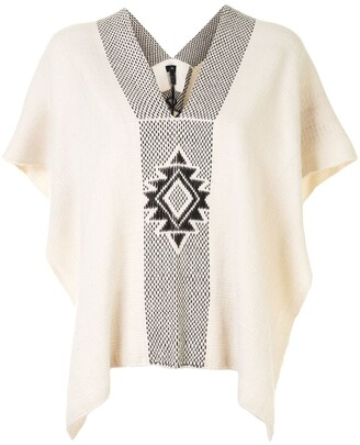 Voz Manta Estrella knitted top