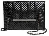 Mossimo Women's Faux Leather Clutch Handbag