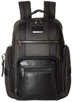Tumi Alpha Bravo Sheppard Deluxe Brief Pack(r) (Black) Briefcase Bags