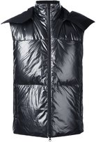 Y-3 metallic vest - men - Feather Down/Polyamide - M