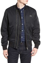 Lacoste Men's L!ve Double Zip Bomber Jacket