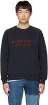 Burberry Navy Logo Taydon Sweatshirt