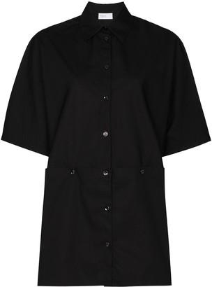 Rosetta Getty Short-Sleeve Buttoned Shirt