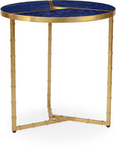 Chelsea House Roscoe Round Side Table, Blue