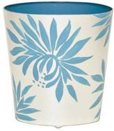 Worlds Away Dahlia Wastebasket