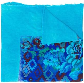 Avant Toi Floral Printed Scarf