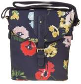 Joules New Womens Blue Tourer Polyester Handbag Cross Body Bags