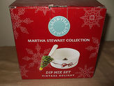Martha Stewart Dip Mix Set Vintage Holiday Christmas Decor $30