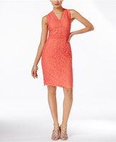 Thalia Sodi Lace Sheath Dress, Only at Macy's