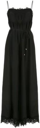 Zimmermann Lace-Embellished Sleeveless Jumpsuit