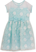 Rare Editions Floral Embroidery Organza Dress, Toddler & Little Girls (2T-6X)