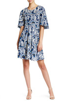 Betsey Johnson Paisley Boho Shift Dress