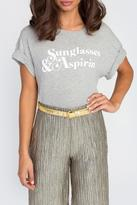 Wildfox Couture Sunglasses & Aspirin Tee