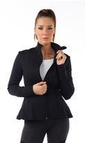 ChiChi Active - Julia Peplum Lace Jacket