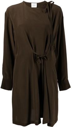 Alysi Tie-Fastening Detail Dress