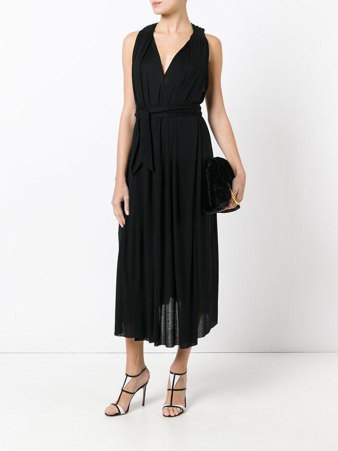 Barbara Bui gathered detail midi dress