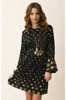 Twelfth St. By Cynthia Vincent by cynthia vincent Bell Sleeve Baby Doll Mini Dress