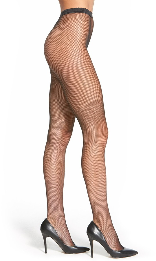 4134d03677359 Black Fishnet Tights - ShopStyle