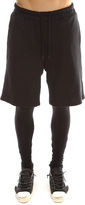 Shades of Grey Black French Terry Track Short